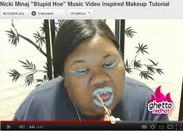 nicki minaj makeup tutorial ghetto