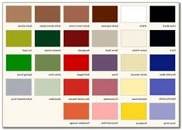 krylon spray paint colors for metal