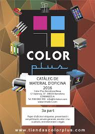 Cataleg Material Oficina 2016 Color Plus 3a P By Color Plus