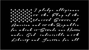 Pledge Of Allegiance Usa American Flag Decal Custom Vinyl Car Truck Window Sticker American Flag Decal Flag Decal Custom Vinyl