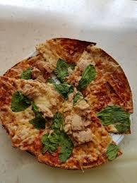 Tortilla Tuna Pizza : postworkoutmeals