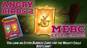 Angry Birds 2 Mighty Eagle Bootcamp Extra Cards! - YouTube
