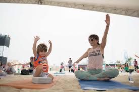 family friendly yoga festival