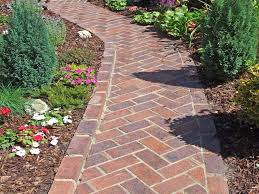 herringbone brick path my favorite