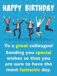 birthday wishes for co workers