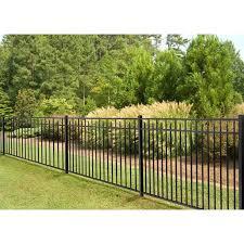 Wam Bam No Dig Fence 4 5 Ft H X 7 Ft W Handy Andy Metal Fence Panel Wayfair