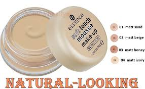 essence soft touch mousse make up and