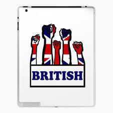 Union Jack Flag Great Britain Uk Car Auto Window Bumper Decal Ipad Case Skin By Imagemonkey Redbubble