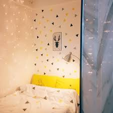 Triangles Baby Girl Room Wall Sticker For Kids Room Baby Boy Room Decor Kids Bedroom Home Decor Childrens Bedroom Wall Decor Wall Stickers Aliexpress