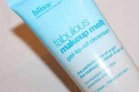 bliss fabulous makeup melt gel to oil