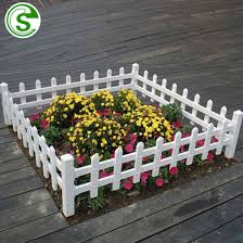 China Factory Light Weight Small Plastic Picket Fencing Panels For Garden China Pvc Fence White Plastic Fence