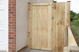 6ft Pressure Treated Featheredge Gate 1 80m High Forest Garden