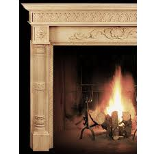 delaware fireplace mantel wood
