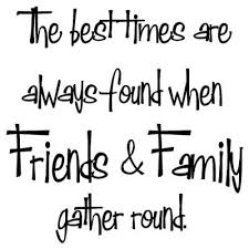 and we have so many great friends and family blessed