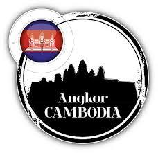 Angkor Wat Cambodia Greetings Label Car Bumper Sticker Decal 5 X 5 3 75 Picclick
