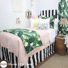 palm tree bedding sets for dorm rooms