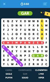 infinite word search puzzles free