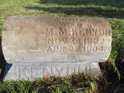 """Adeline E. """"Addie"""" Phillips Kenyon (1832-1904) - Find A Grave Memorial"""