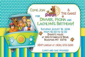 Scooby Doo Invitation Fiesta De Legos Cumpleanos Fiesta