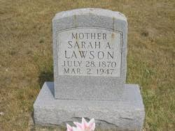 "Sarah Adeline ""Lennie"" Jones Lawson (1879-1947) - Find A Grave Memorial"