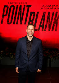 Adam G. Simon at the screening of POINT BLANK at Netflix | Point ...