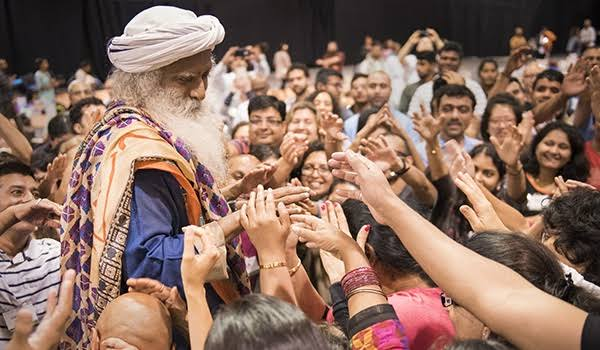 Image result for jaggi vasudev""