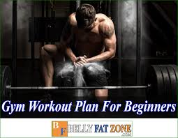 gym workout plan for beginners pdf