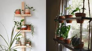 diy plant stands shelves to showcase