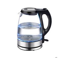 glass electric kettle boiling water