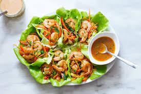 Shrimp Lettuce Wraps Recipe — Eatwell101
