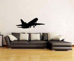 Boeing 747 Airplane Silhouette Vinyl Wall Decal Sticker Pinnacleoilandgas Com