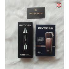 Combo máy cạo râu Flyco FS371 Và máy tỉa lông mũi FS7805 HENGFENG, giá chỉ  515,000đ! Mua ngay kẻo hết!
