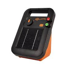 Battery Powered Fence Energizer 341309 Gallagher Europe Solar Powered Rechargeable