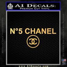Chanel No5 Decal Sticker A1 Decals