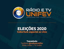 Rádio e TV Unifev transmitirão, ao vivo, resultados das eleições 2020 -  UNIFEV