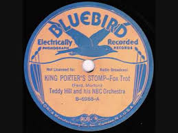 Teddy Hill & His NBC Orchestra - King Porter Stomp - 1937 - YouTube