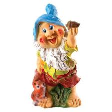 garden statue large outdoor gnome