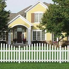 Veranda Glendale 4 Ft H X 8 Ft W White Vinyl Arched Top Spaced Picket Fence Panel With 3 In Unassembled Pointed Pickets 128007 The Home Depot Front Yard Fence Picket Fence Panels Fence Design