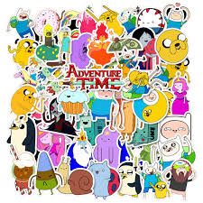50 Pcs Cartoon Adventure Time With Finn Buy Online In Mongolia At Desertcart