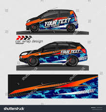 Car Decal Vector Modern Abstract Stripe Stock Vector Royalty Free 1134525473