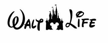 Walt Life Castle Disney Car Decal Sticker Mickey Goofy Choose Color Minnie A2btravel Ge