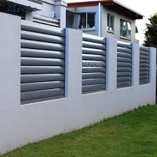 China High Quality Louvered Fencing Adjustable Louvre Fence For Garden China Adjustable Louvre Fence And Louvre Fence For Garden Price