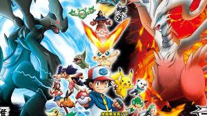 pokemon wallpaper legendary black and