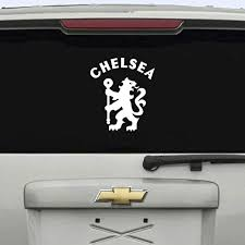 6 Chelsea Fc Car Window Decal Sticker Football Club Amazon Ca Home Kitchen