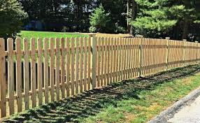 Cedar Spaced Picket Campanella Fence
