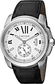 W7100037 De Cartier Leather Strap Watch ...
