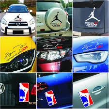 Special Offer Limited Door Sticker Cartoon Nba For Air Jordan Series Sticker Decal Reflective Car Styling Body Accessories Car Styling Car Stickers Cartooncartoon Decals For Cars Aliexpress