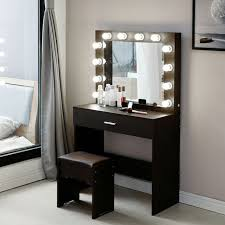 makeup vanity set with lights