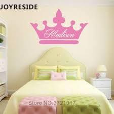 Mega Discount E2ba5 Princess Custom Girls Name Art Design Wall Sticker Home Baby Girls Bedroom Wall Decor Wall Stickers Personalized Name Vinyl M397 Cicig Co