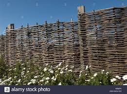 Bamboo Fence Uk High Resolution Stock Photography And Images Alamy
